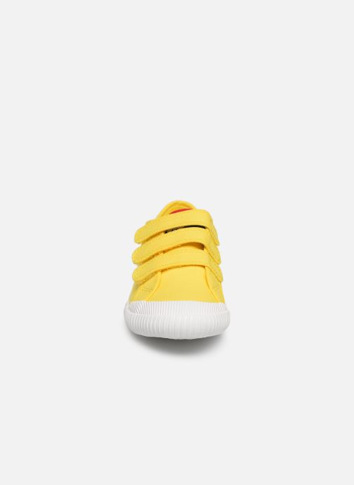 Trainers Le Coq Sportif Nationale PS Yellow model view