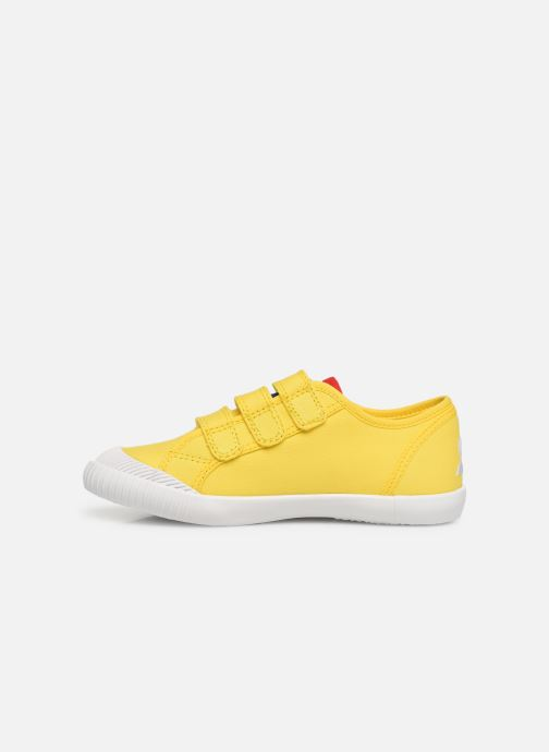 Trainers Le Coq Sportif Nationale PS Yellow front view