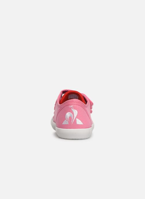 Trainers Le Coq Sportif Nationale PS Pink view from the right