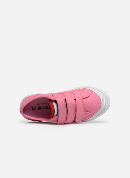 Trainers Le Coq Sportif Nationale PS Pink view from the left