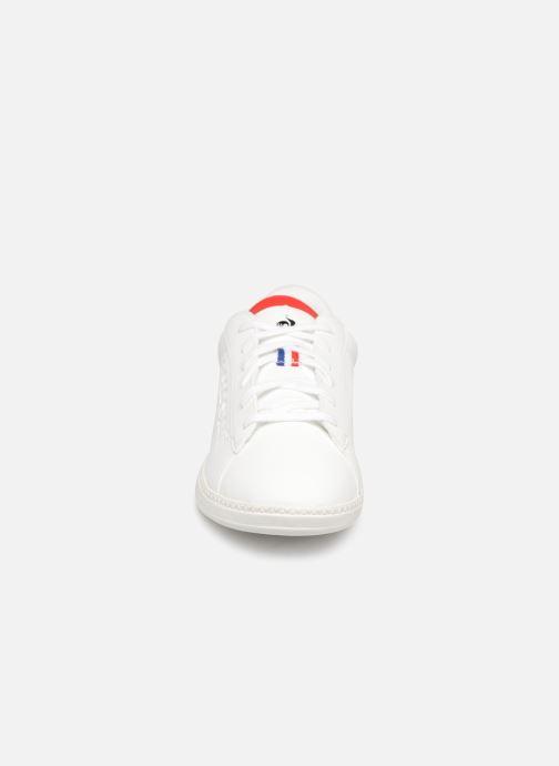 Baskets Le Coq Sportif Courtset GS Blanc vue portées chaussures