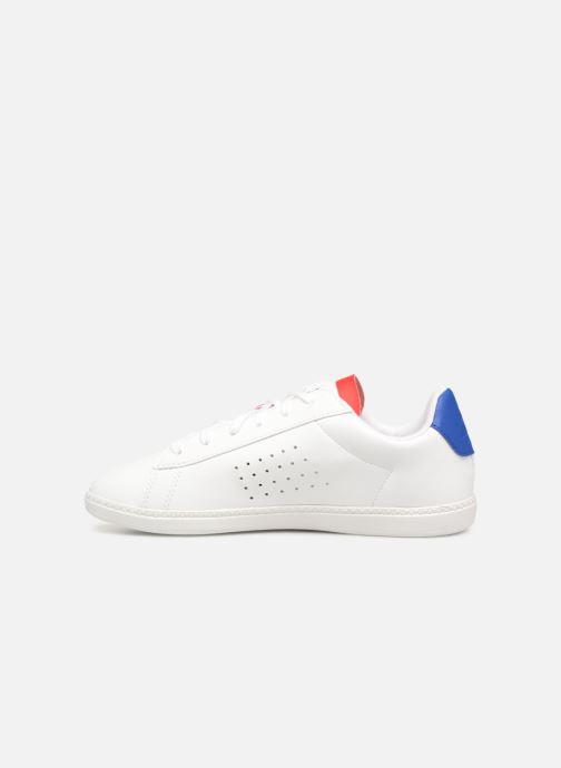 Baskets Le Coq Sportif Courtset GS Blanc vue face