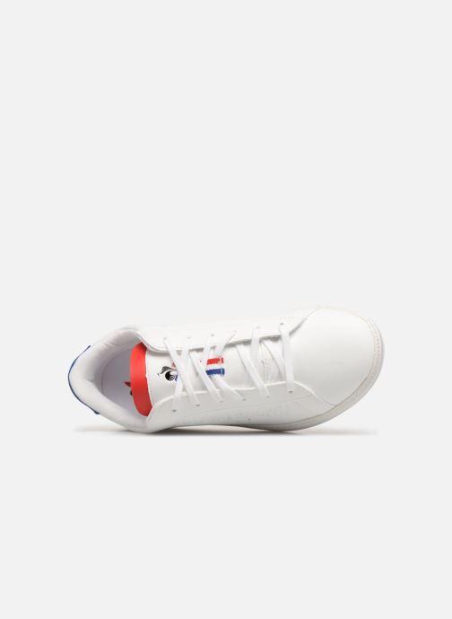 Baskets Le Coq Sportif Courtset GS Blanc vue gauche
