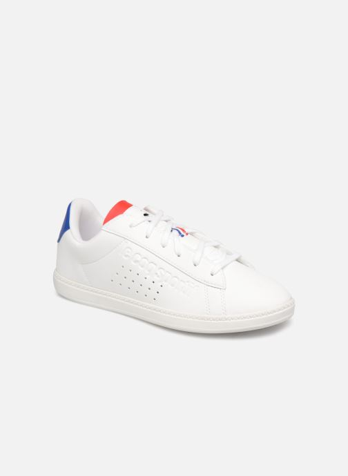 Sneakers Le Coq Sportif Courtset GS Wit detail
