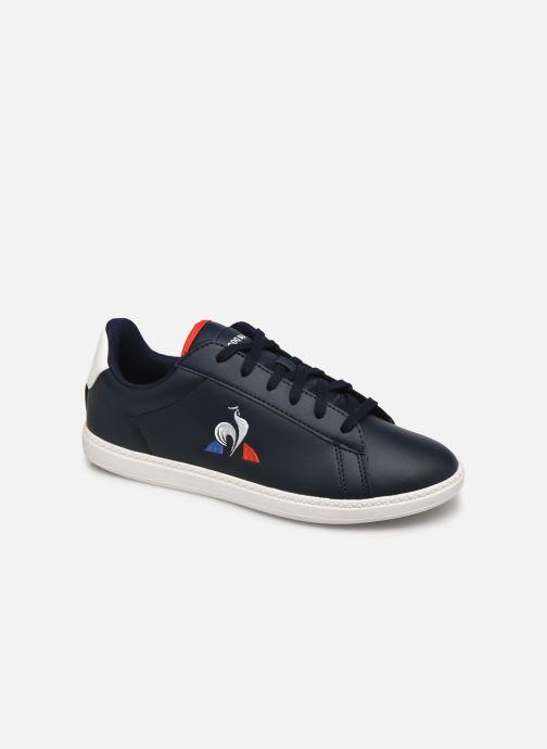 Sneakers Le Coq Sportif Courtset GS Blauw detail