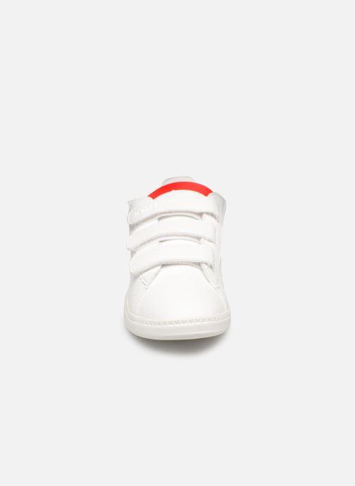 Baskets Le Coq Sportif Courtset PS Blanc vue portées chaussures