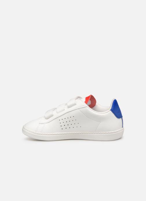 Sneakers Le Coq Sportif Courtset PS Wit voorkant