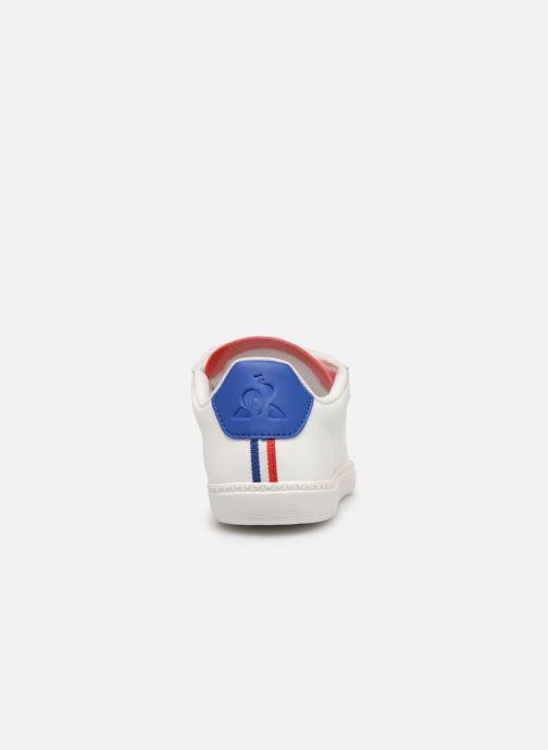 Sneakers Le Coq Sportif Courtset PS Wit rechts