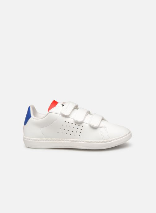 Sneakers Le Coq Sportif Courtset PS Wit achterkant
