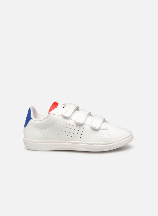 Sneakers Le Coq Sportif Courtset PS Wit achterkant