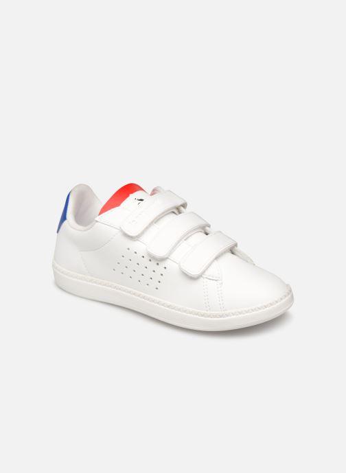 Sneakers Le Coq Sportif Courtset PS Wit detail