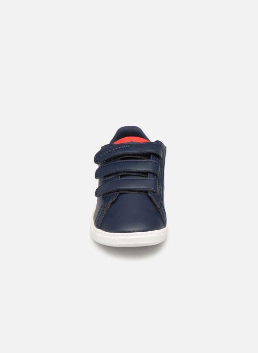 Baskets Le Coq Sportif Courtset PS Bleu vue portées chaussures