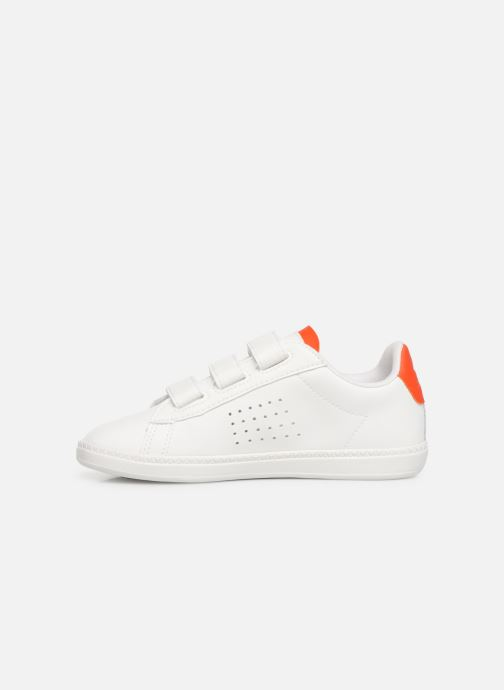 Trainers Le Coq Sportif Courtset PS White front view