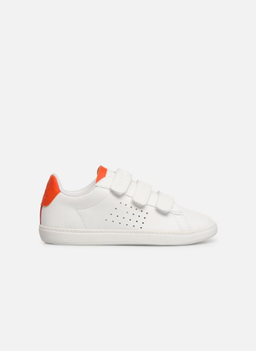 Trainers Le Coq Sportif Courtset PS White back view