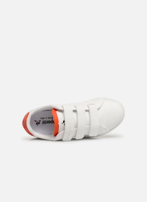 Trainers Le Coq Sportif Courtset PS White view from the left