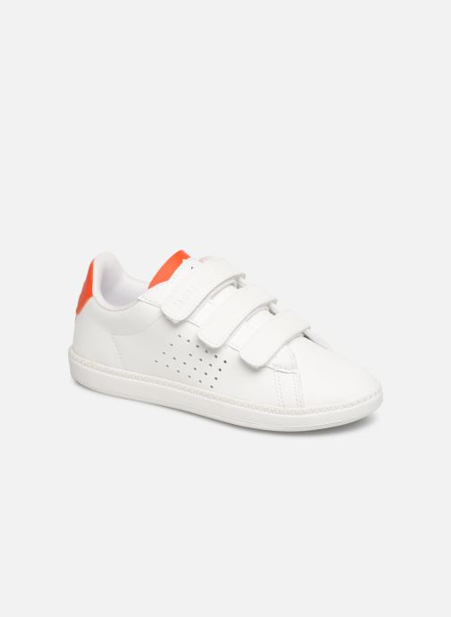 Trainers Le Coq Sportif Courtset PS White detailed view/ Pair view