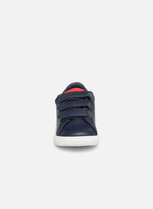 Baskets Le Coq Sportif Courtset INF Bleu vue portées chaussures