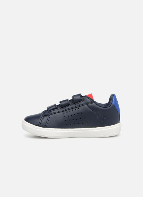 Sneakers Le Coq Sportif Courtset INF Blauw voorkant