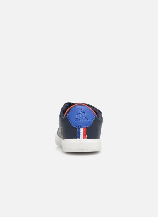 Sneakers Le Coq Sportif Courtset INF Blauw rechts
