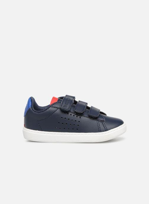 Sneakers Le Coq Sportif Courtset INF Blauw achterkant