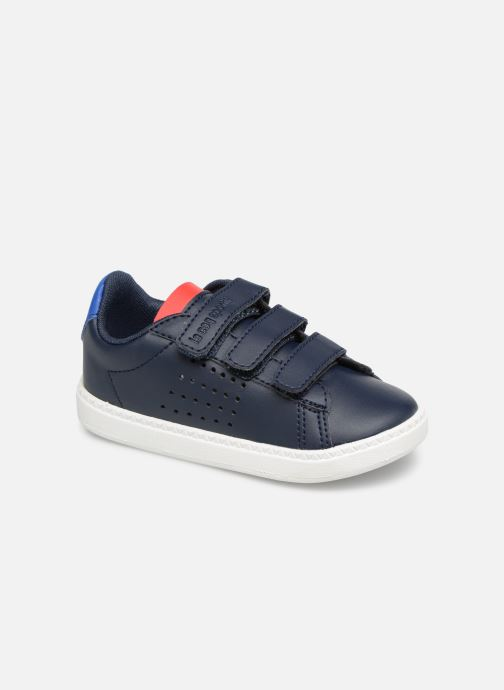 Sneakers Le Coq Sportif Courtset INF Blauw detail