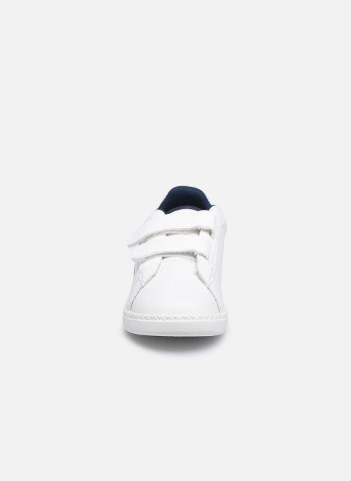 Sneakers Le Coq Sportif Courtset INF Bianco modello indossato
