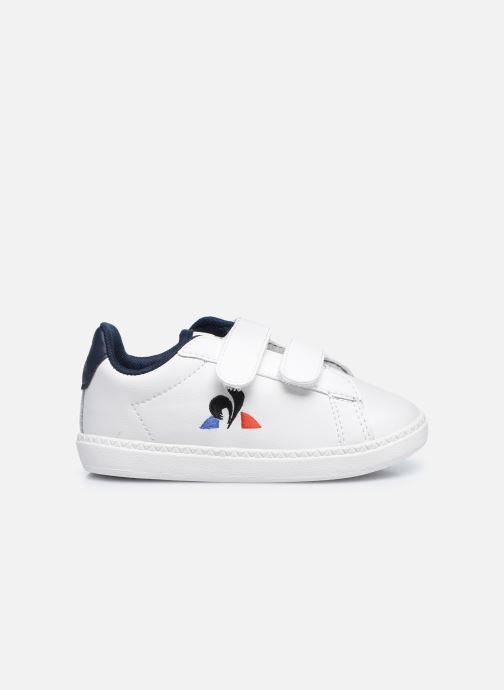Sneakers Le Coq Sportif Courtset INF Bianco immagine posteriore