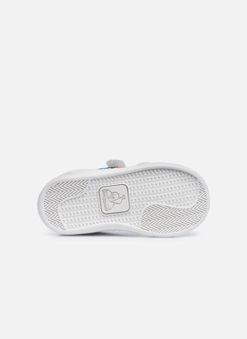 Sneakers Le Coq Sportif Courtset INF Bianco immagine dall'alto