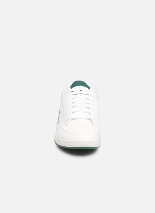 Trainers Le Coq Sportif Courtclay GS White model view