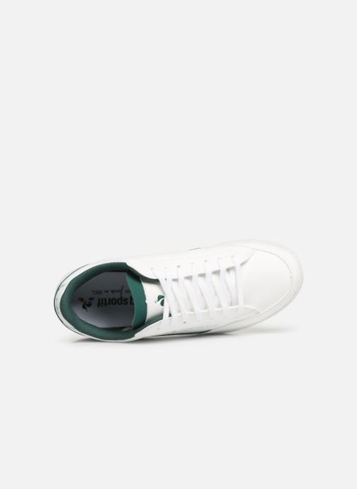 Trainers Le Coq Sportif Courtclay GS White view from the left