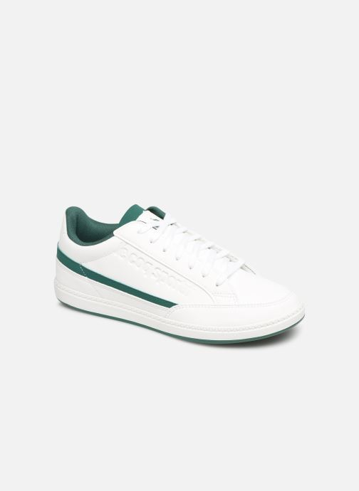 Trainers Le Coq Sportif Courtclay GS White detailed view/ Pair view