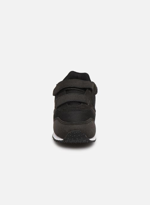 Baskets Le Coq Sportif Alpha II INF Noir vue portées chaussures