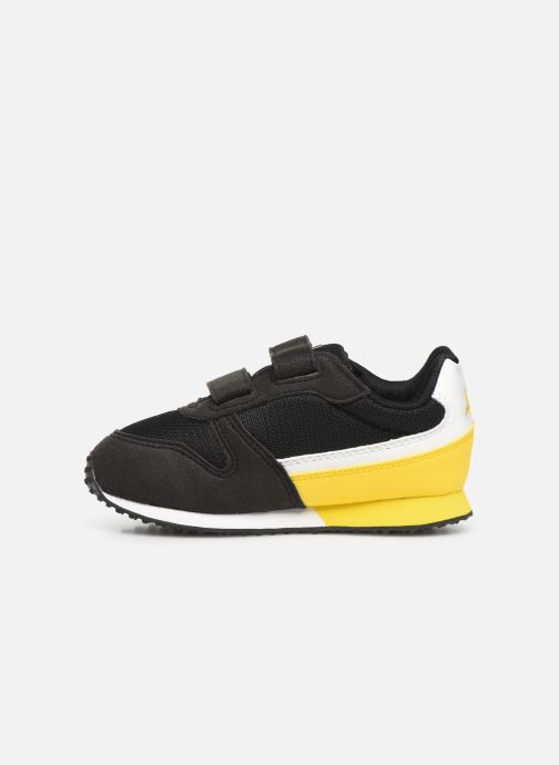 Sneakers Le Coq Sportif Alpha II INF Zwart voorkant