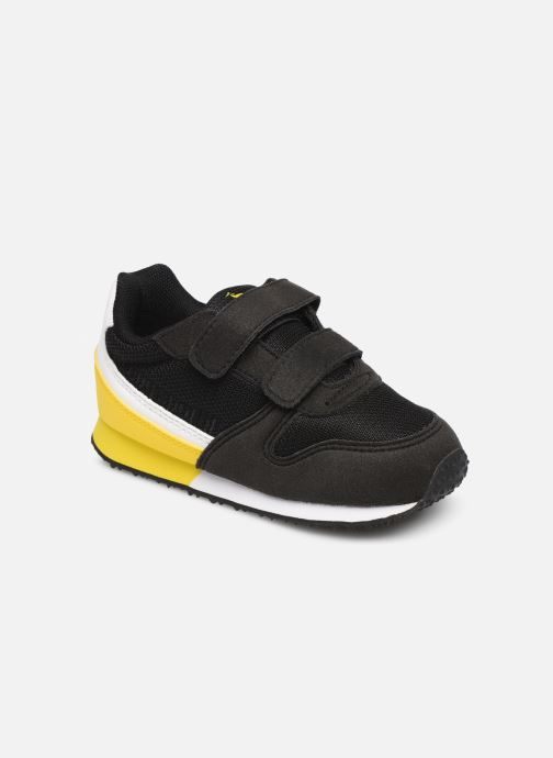 Trainers Le Coq Sportif Alpha II INF Black detailed view/ Pair view