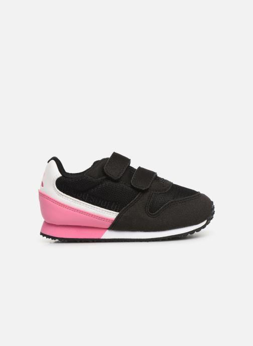 Sneaker Le Coq Sportif Alpha II INF schwarz ansicht von hinten