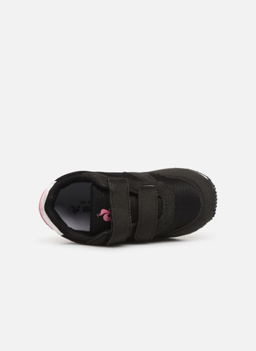 Trainers Le Coq Sportif Alpha II INF Black view from the left