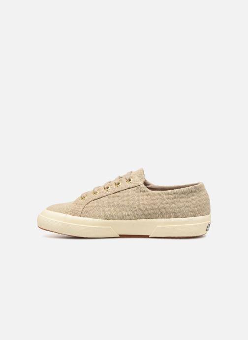 Sneakers Superga Tyedyelure-2750 Goud en brons voorkant