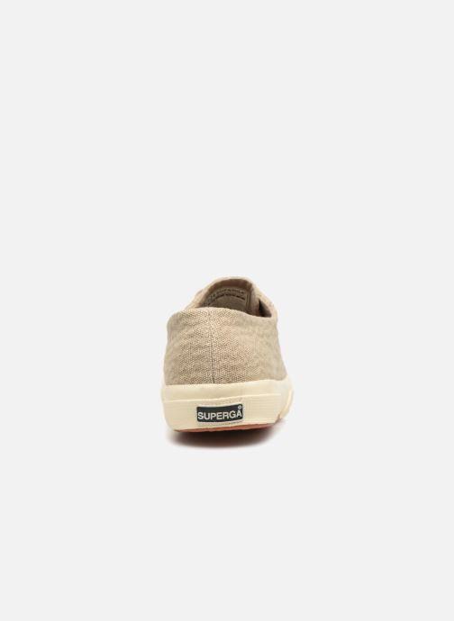 Sneakers Superga Tyedyelure-2750 Goud en brons rechts