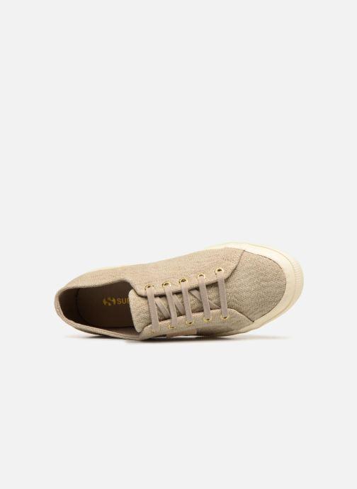 Sneakers Superga Tyedyelure-2750 Goud en brons links
