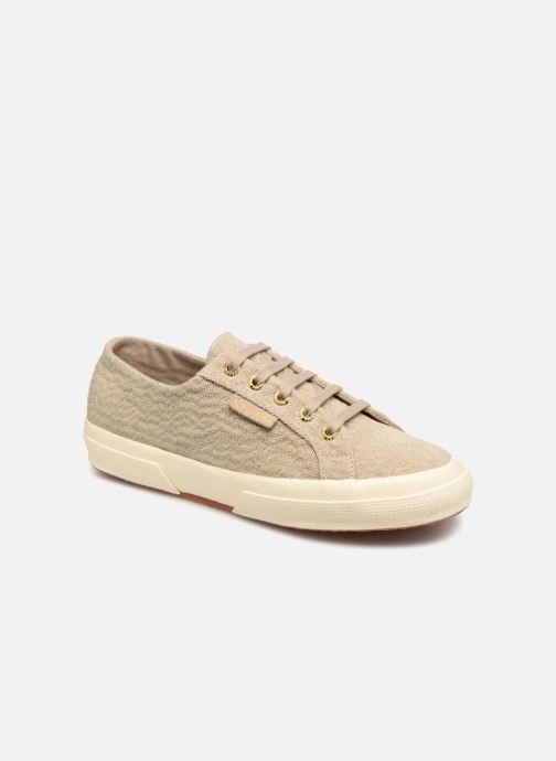 Baskets Superga Tyedyelure-2750 Or et bronze vue détail/paire