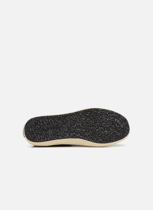 Sneaker Superga Tyedyelure-2750 schwarz ansicht von oben