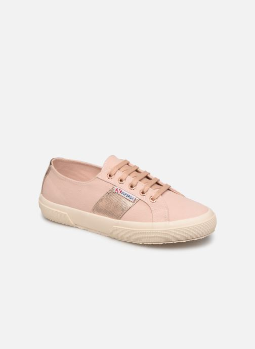 Baskets Superga Cotcotmetw-2750 Rose vue détail/paire
