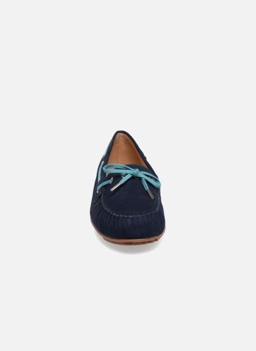 Schnürschuhe Sebago Harper Tie Nbk blau schuhe getragen