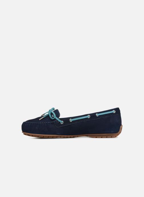 Chaussures à lacets Sebago Harper Tie Nbk Bleu vue face