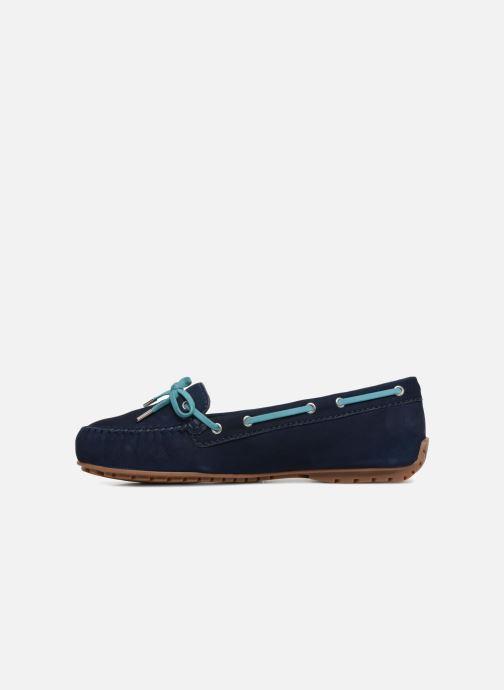 Lace-up shoes Sebago Harper Tie Nbk Blue front view