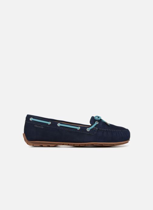 Lace-up shoes Sebago Harper Tie Nbk Blue back view
