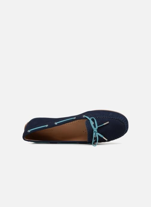 Lace-up shoes Sebago Harper Tie Nbk Blue view from the left