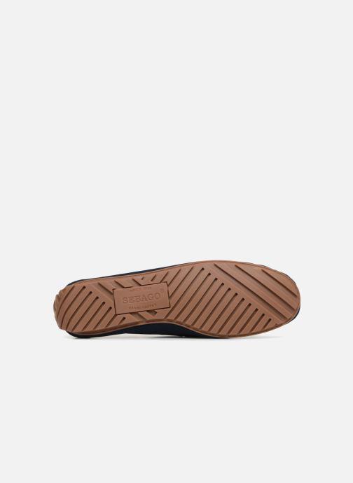 Zapatos con cordones Sebago Harper Tie Nbk Azul vista de arriba
