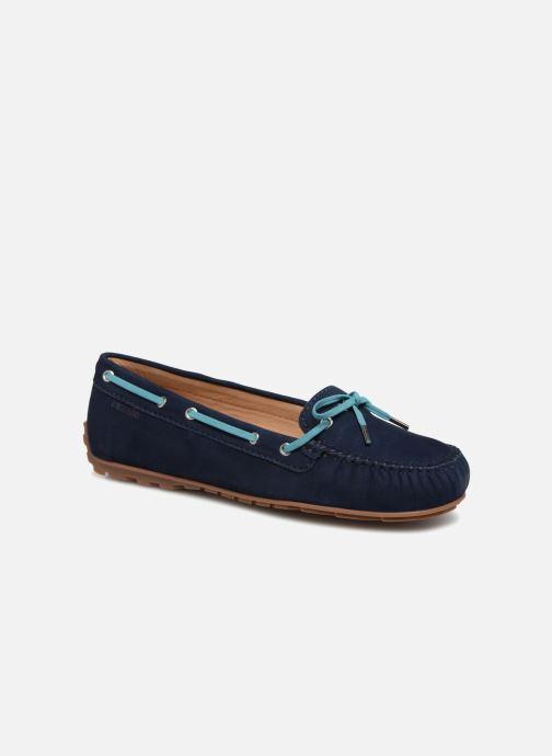 Lace-up shoes Sebago Harper Tie Nbk Blue detailed view/ Pair view