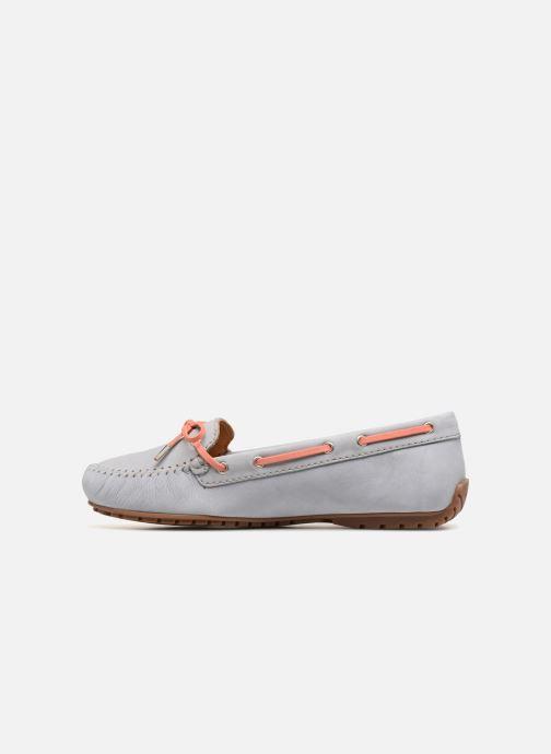 Zapatos con cordones Sebago Harper Tie Nbk Gris vista de frente